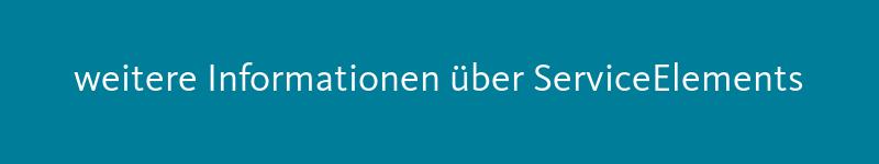Schaltfläche: weitere Informationen über ServiceElements