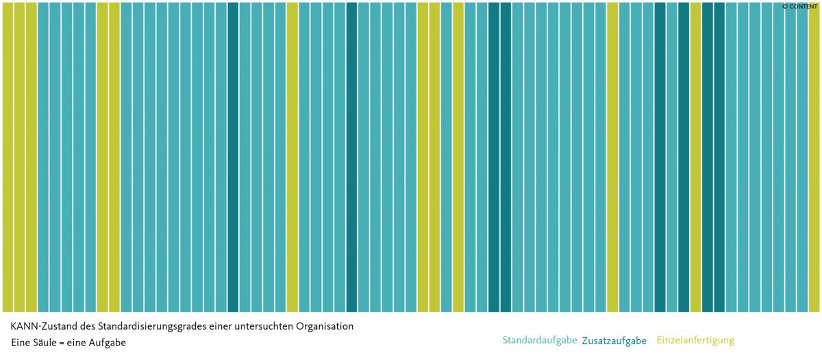 KANN-Zustand des Standardisierungsgrad einer untersuchten Organisation